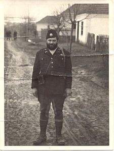 OSS 1st Lieutenant George Musulin behind German-occupied Serbia