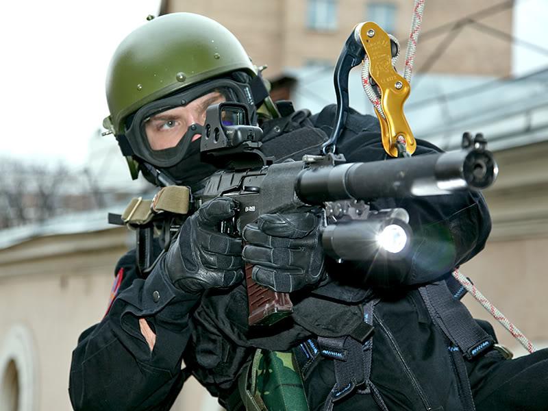 The VSS Sniper Rifle