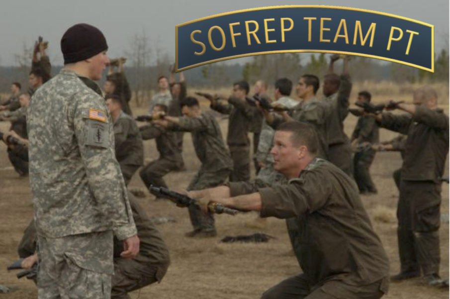 Special Operation Forces Selection PT Preparation Week 1, Day 1