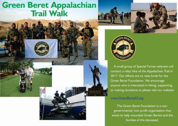 435e727bbf89e Green Beret Appalachian Trail Walk and Fundraiser- Support the Regiment