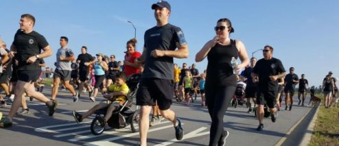 3rd SFG Honors Their Fallen Operators With a 5K Memorial Run