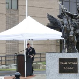 Special Operations Aviation Statue Unveiled at Ft. Bragg
