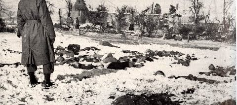 Massacre of American Soldiers at Malmedy December 17,1944