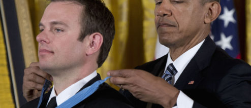 On This Day in 2016, Navy SEAL Edward Byers Awarded Medal of Honor