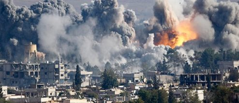 US Airstrikes Kill 100 Syrian pro-Assad Forces in Syria