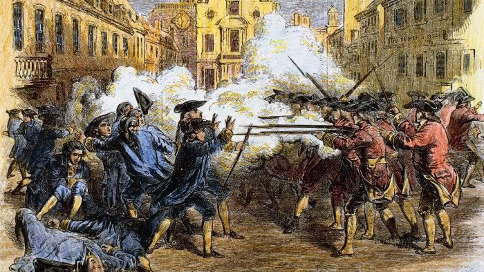 The Boston Massacre March 5, 1770 A Powder Keg That Lit the Revolution