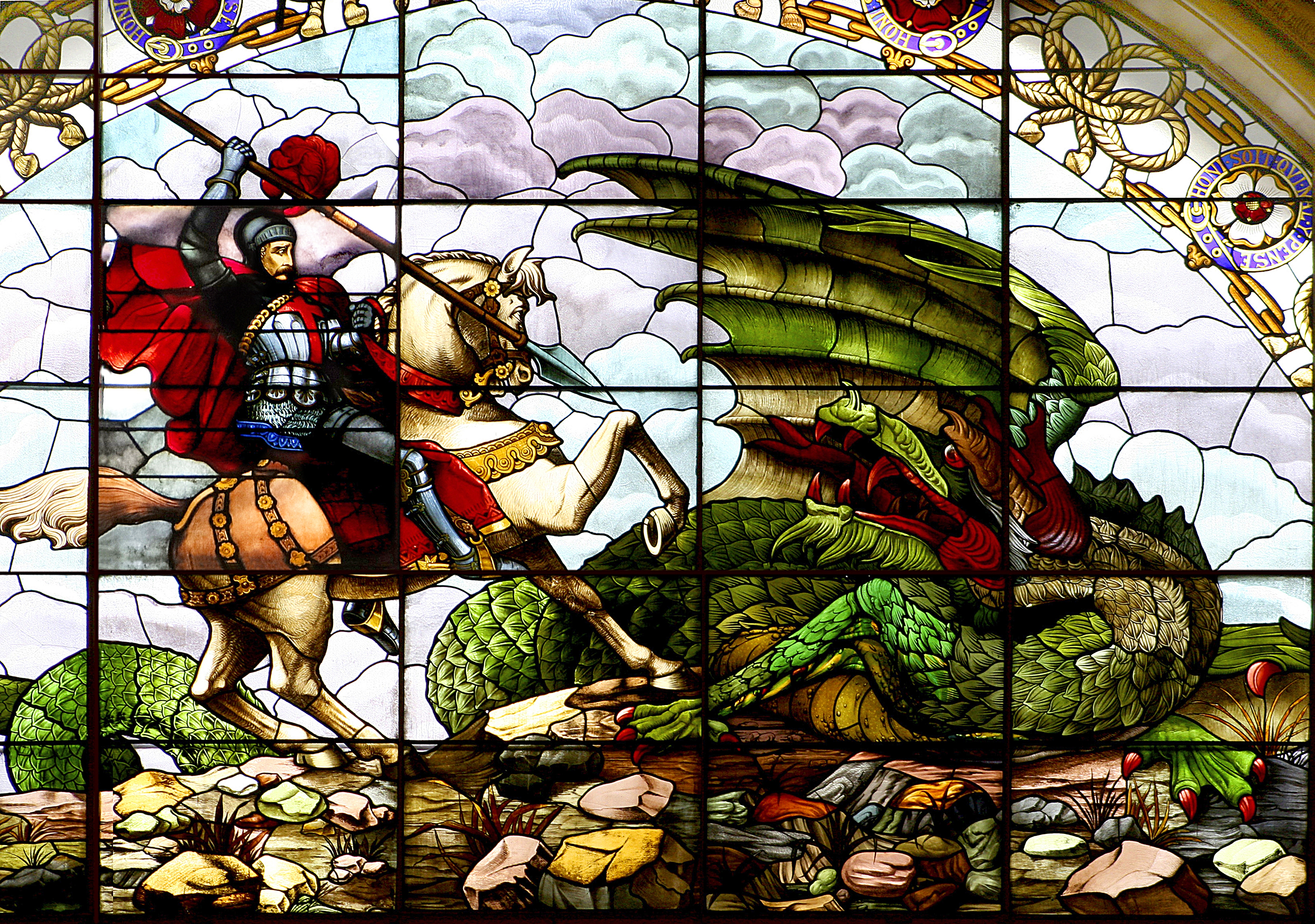 St  George and the Dragon , The Patron Saint of England