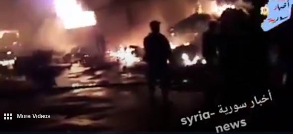 Israeli Airstrikes Hit Iranian Base in Syria Nine Reported Killed