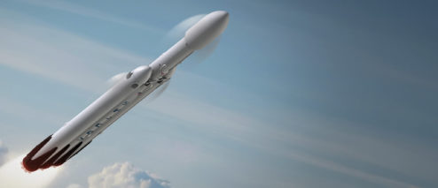 SpaceX Wins $130 Million Air Force Contract For Falcon Heavy Rocket