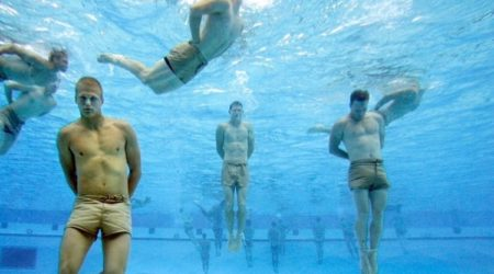 Not Comfortable Enough in the Water? Master the SEAL Drown Proofing Test